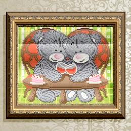 АТ5536. Мишки на свидании