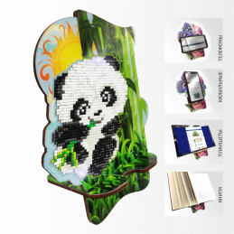 APM-06. The little Panda in the bamboo grove