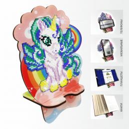 APM-07. Unicorn on a rainbow