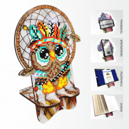 APM-11. Owl. Dreamcatcher.