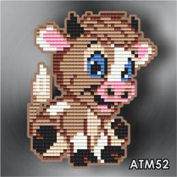 АТМ52. Магнит детский «Бычок»