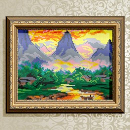 AT5605. Mountain landscape