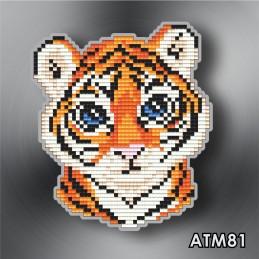 АТМ81. Магнит детский «Тигр»