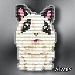 """ATM89. Children's magnet """"Rabbit"""""""