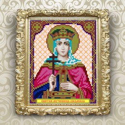 VIA5056. Holy Martyr Lyudmila