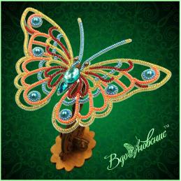 BGP-081. Openwork 3d butterfly