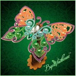 BGP-083. Openwork 3d butterfly