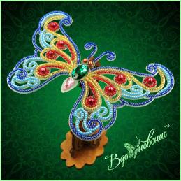 BGP-084. Openwork 3d butterfly