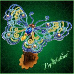 BGP-086. Openwork 3d butterfly