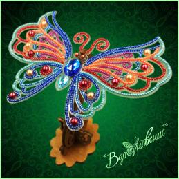 BGP-089. Openwork 3d butterfly