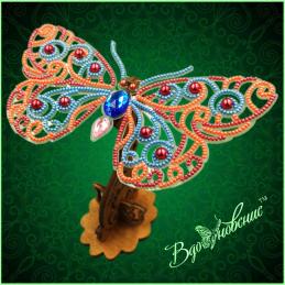 BGP-088. Openwork 3d butterfly