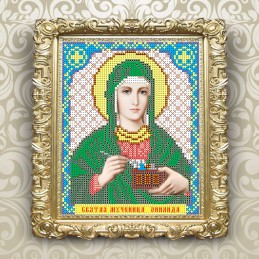VIA5063. Holy Martyr Zinaida