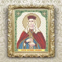 VIA5165. Holy Martyr Lyudmila