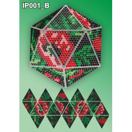 IP001_B. 3d Новогодний шар...