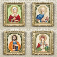 christian icons named, 205х250mm