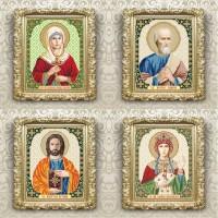 christian icons named, 205х250mm