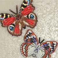 3d бабочки. наборы для выкладки стразами