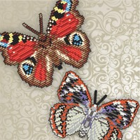 3d butterflies. sets for laying out rhinestones