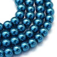 Glass beads. Pearls